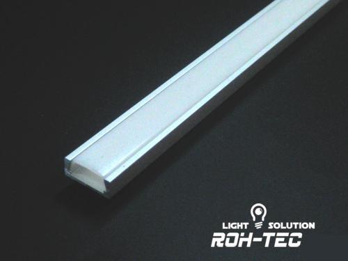 led aluminium profil 1m zur auswahl aluprofil schiene f. Black Bedroom Furniture Sets. Home Design Ideas
